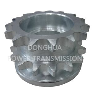 Zinc Plated Double Sprockets 10b15t pictures & photos