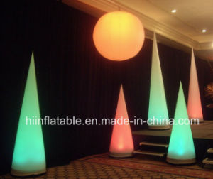 Stage Wedding Deco Inflatable Cone pictures & photos