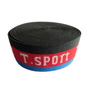 Garment Jacquard Woven Elastic Webbing / Elastic Tape pictures & photos