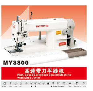 Lockstitch Sewing Machine with Edge Cutter (MY-8800)