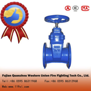 Cast Iron Wedge Non-Rising Stem Gate Valve pictures & photos