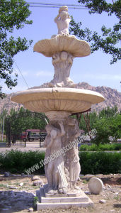 Hand Carved Marble Fountain for Garden Decoration pictures & photos