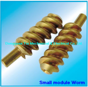 Wrom Shaft, Worm. Brass Worm for Gearbox