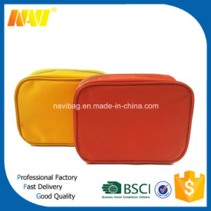 Nylon and PVC Cosmetic Toiletry Bag pictures & photos