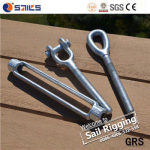 Carbon Steel Drop Forged Galvanized Us Type Wire Rope Turnbuckle pictures & photos