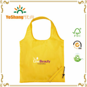 190t Polyester Reusable Foldable Shopping Bag with Custom Full Color Logo pictures & photos