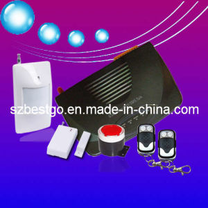 Wireless GSM Home Alarm System for Burglar Fire Intruder (BT-104GSM)