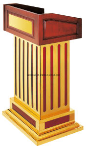 Luxury Wooden Stage Podium (DW34) pictures & photos
