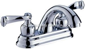 "4"" High Quality Bathroom Faucet (E-06) pictures & photos"