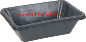Rubber Tank Rubber Bucket Rubber Pail, Square Tank, Feeder Bucket