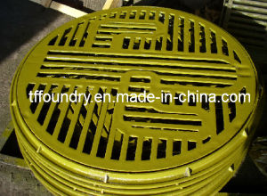 Ductile Cast Iron Custom-Made Round Gratings for Public Garden pictures & photos