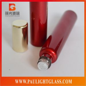 12ml Electroplating Glass Perfume Bottle with Roll on Cap or Pump