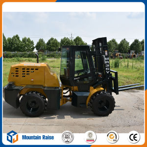 Mr35y 3.5t All Rough Terrain Forklift with High Lifting pictures & photos