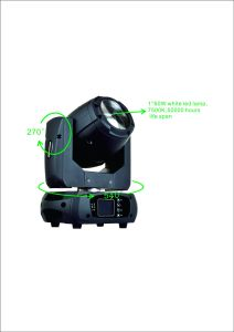 Best DJ Lights 60W Mini Moving Head Beam pictures & photos