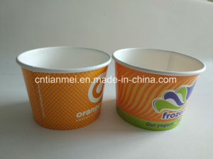 16oz Ice Cream Cups, Paper Cup, Yogurt Cups pictures & photos