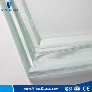 Extra/Ultra Thick Low Iron Clear Float Glass/Tinted Glass pictures & photos