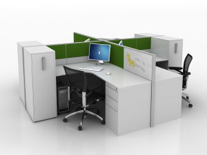 SGS Certificate Highly Quality Partition Office Workstation (FECN997) pictures & photos