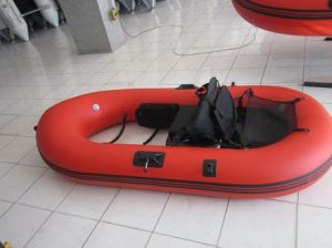 Small Belly Inflatable Kayak Fishing Boat for Rafting pictures & photos