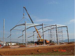 Steel Structure Preengineered Warehouse (FAX-680021-MA)