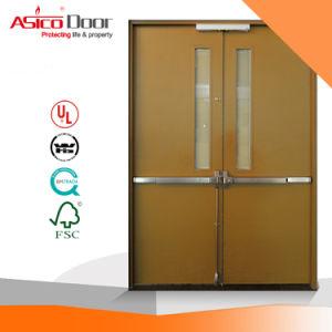 Steel Fire Door Assembled with Vision Panel (UL fire door) pictures & photos