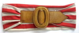 Women′fashion Belt With Plastic Buckle (ESB0621)