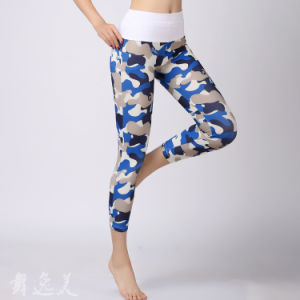 Custom Sublimation Printed Compression Tights Capris pictures & photos