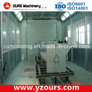 Powder Coating Booth with Low Energy Consumption pictures & photos