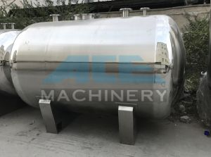 10000L Industrial Stainless Steel 304 Horizontal Liquid Storage Tank (ACE-CG-6A) pictures & photos