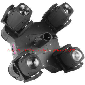 LED Round 4 Head 12W RGBW 4in1 Moving Head Beam Light pictures & photos