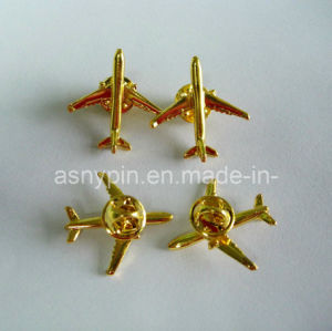 3D Aircraft Metal Badge, Airplane Lapel Pin Custom pictures & photos