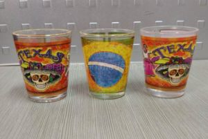 50ml Sublimation White Panel Shot Glass pictures & photos