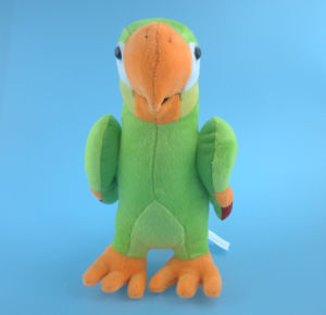 Green Stuffed Plush Toy Parrot pictures & photos