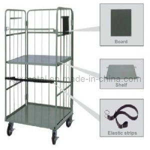 Collapsible Security Roll Container Grocery Cart pictures & photos