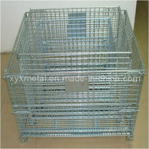 Kinds of Foldable Metal Mesh Warehouse Storage Container pictures & photos