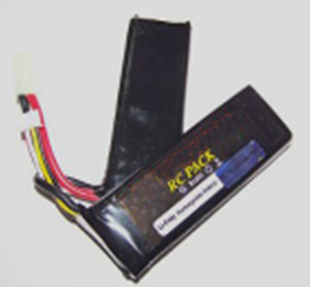 BB Gun Polymer Li Ion Rechargeable Battery 11.1V 1800mAh
