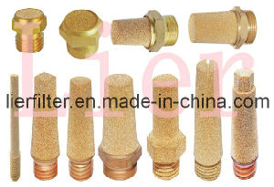 Peneumatic Muffler/Silencer by Sintered Copper