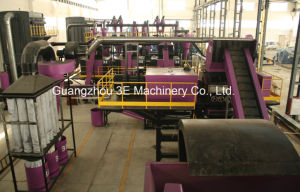 Tire Recycling Line/Tyre Recycling Machine/Waste Tire Recycling Line pictures & photos