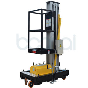 Single Mast Aerial Work Platform Max Height of Platform (9m) pictures & photos