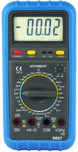 Digital Multimeter (HP-9807)