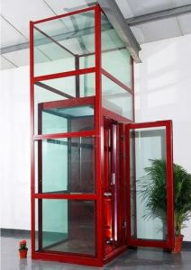 No Pit Requirement Villa Elevator for Home Lift pictures & photos