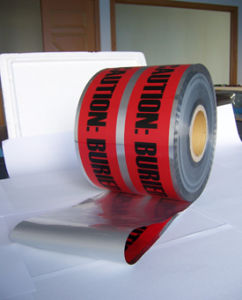 Detectable Warning Tape, Caution Tape, Barrier Tape pictures & photos