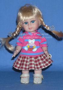 """8"""" Full Vinyl Standing Doll (C303)"""