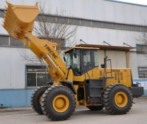 Front Wheel Loader (Rated load 5ton) Yn959g pictures & photos