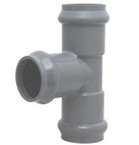 PVC Gasket Tee for Water Supply pictures & photos