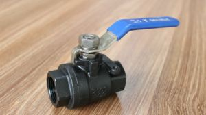 Ss Full Bore Thread 2PC Ball Valve pictures & photos