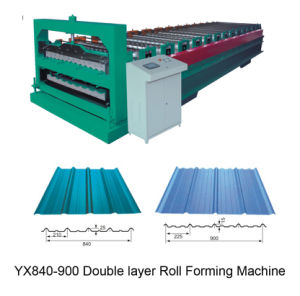 Double Sheet Roll Forming Machine (ZY840/900)