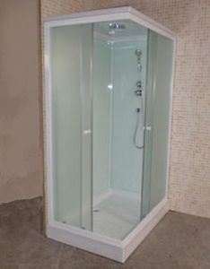 Bathroom Russia Poland Simple Glass Shower Cabin 90 For Sale