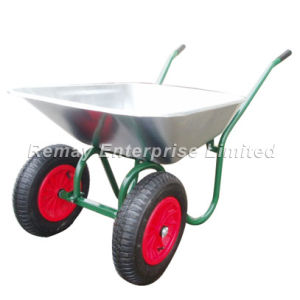 Wheel Barrow with Two (2) Wheels (WB6410) pictures & photos