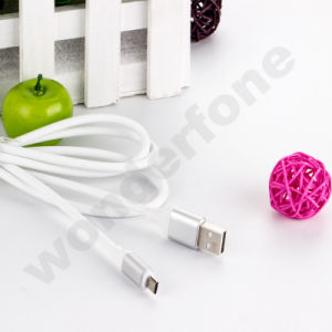 1.5m Sync TPE USB Charging Cable for Android and iPhone pictures & photos