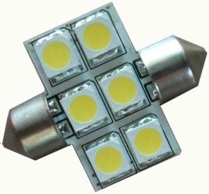 Festoon Bulb 31mm 6LED Car Lamp pictures & photos